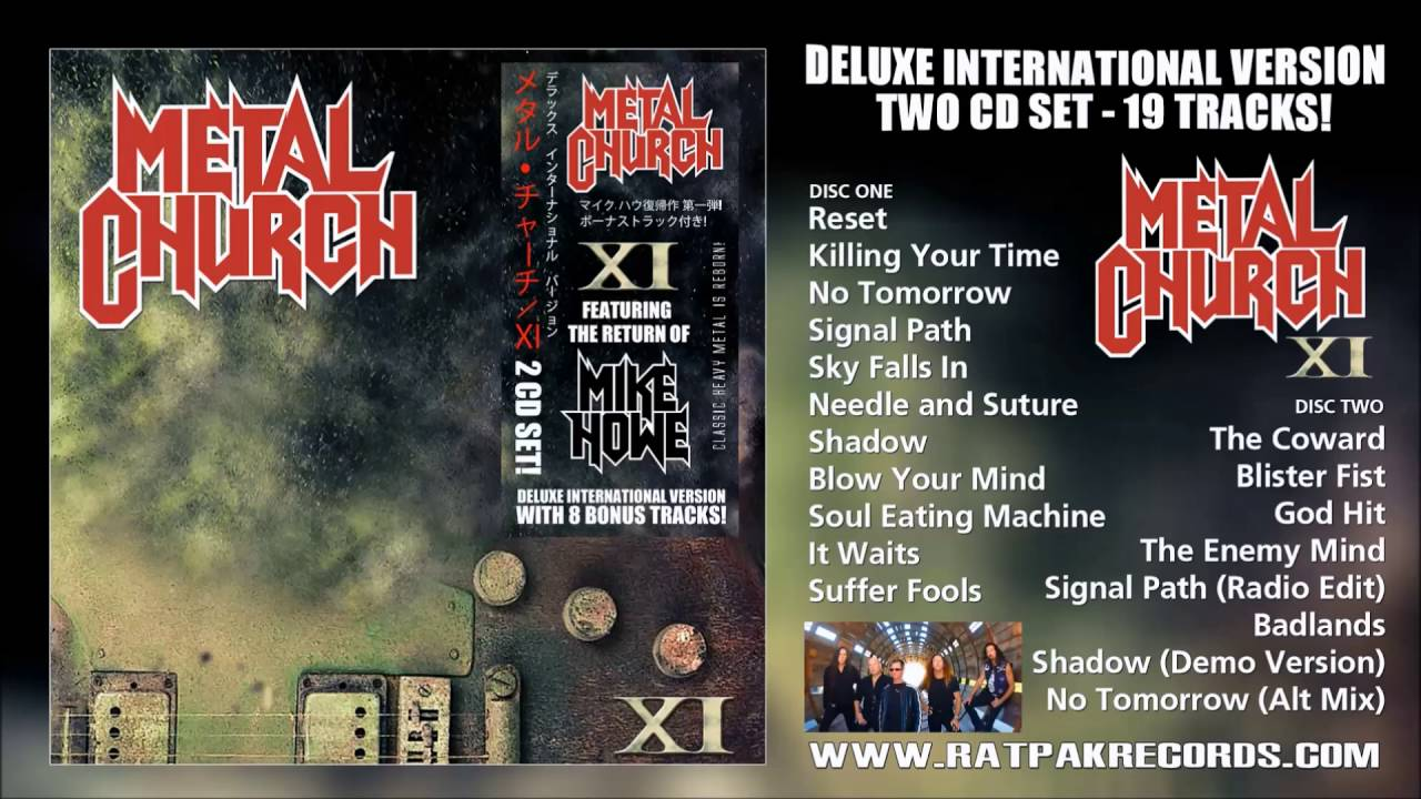 Metal Church  The Coward    Bonus track from  XI   Deluxe International Version