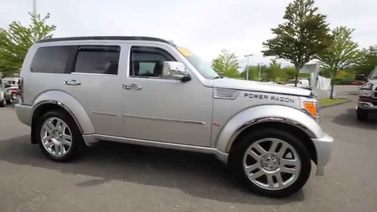 2008 dodge nitro r t silver 8w126569 everett snohomish youtube. Black Bedroom Furniture Sets. Home Design Ideas