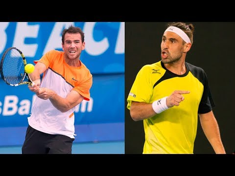 Marcos Baghdatis vs Adrian Mannarino R2,R3 SOFIA 2018 HD BEST Highlights