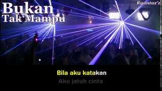 Karaoke   Bukan Tak Mampu Dangdut (Mix)