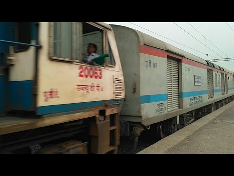 •First LHB Run• New Jalpaiguri-New Delhi Superfast(12523)