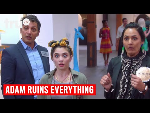 Adam Ruins Everything - How the Fine Art Market is a Scam | truTV