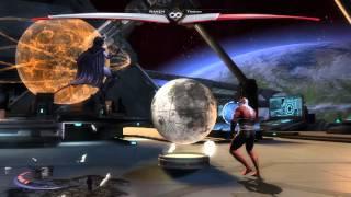 Raven vs Trigon: Injustice: Gods Among Us: Ultimate Edition