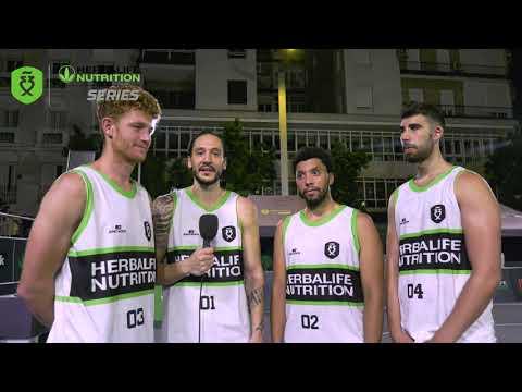 Entrevista a los subcampeones en el Madrid Open Herbalife 3x3 Series 2021