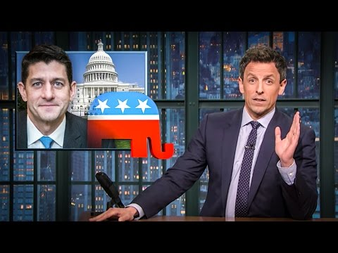 Paul Ryan Picked A Fight With Seth Meyers And Lost
