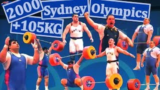 +105KG | 2000 | Sydney - Olympic Games | Strongest super-heavyweight battle ever!