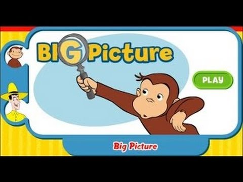 Curious George Big Picture Education Games Movies
