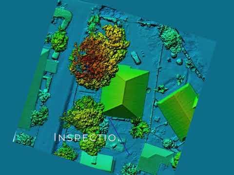 Inspection et modélisation des bâtiments par drone