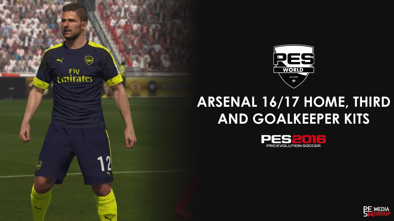 *UPDATED* Arsenal 16/17 home, third and gk kits instruction video