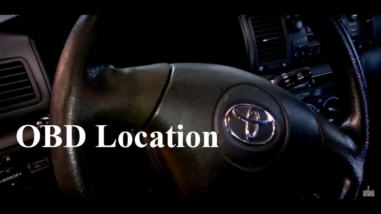 Toyota Corolla 2003 Zcze Obd Youtube Ce Fuse Box