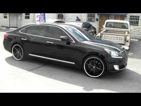 877 544 8473 22 Inch Asanti ABL5 Black Milled Rims 2013 HyundaI Equus Wheels Free Shipping Call Us
