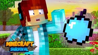 Minecraft Survival #17 - MAÇÃ DE DIAMANTE !!