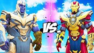 THANOS vs Iron Man - Thanos Buster
