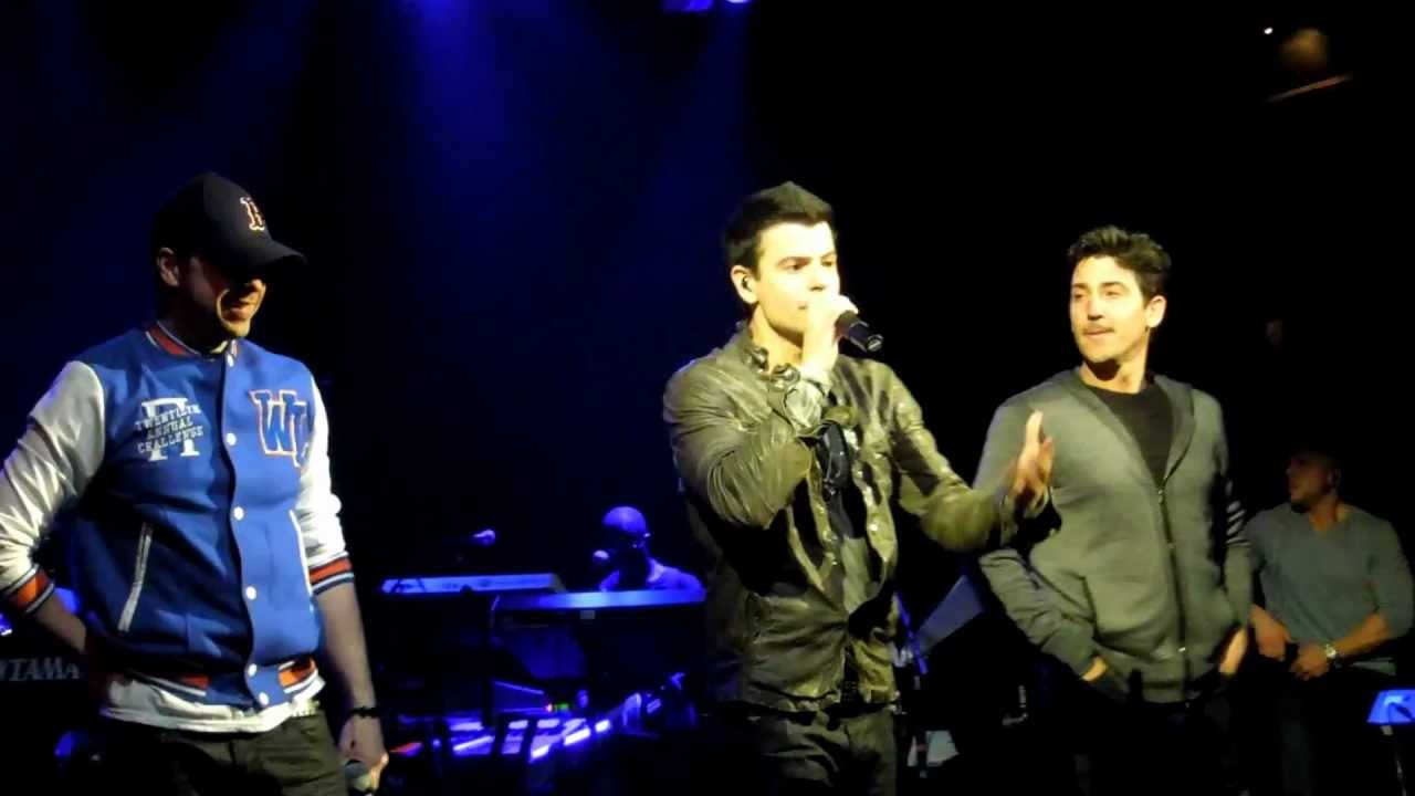 """Download Jordan Knight Live & Unfinished NYC """"Stingy"""" & """"Right Stuff"""" with Donnie Wahlberg and Jon Knight"""