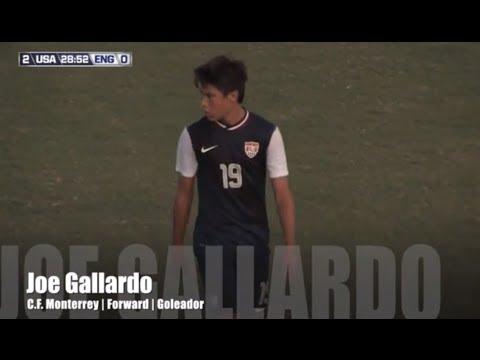 Joe Gallardo | U.S. U-17 MNT | C.F. Monterrey  | Forward