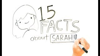 Not DRAW MY LIFE! 15 Random Facts | Doodles by Sarah