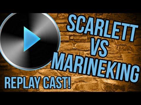 StarCraft 2: Scarlett [Zerg] Vs [Terran] MarineKing - Zerg Replay Cast