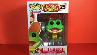 Ad Icon Dig Em' Frog POP Vinyl Review