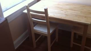 Ikea Dining Table Set Assembly Service Video In Annandale Va By Furniture Assembly Experts Llc