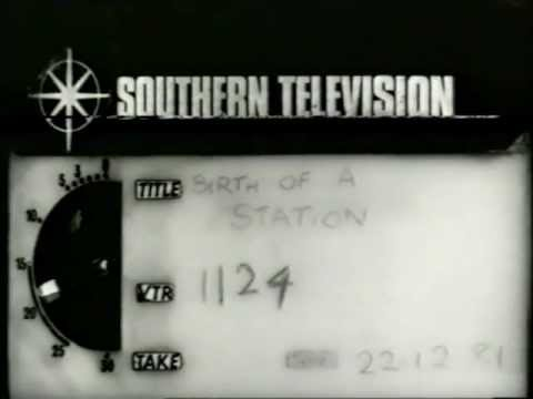 Southern Television VT Clock for TVS 'Birth Of A Station'