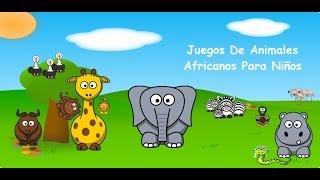 Juegos De Animales Africanos Para Niños