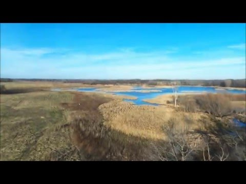 BeBop Drone over Paul Douglas Forest Preserve