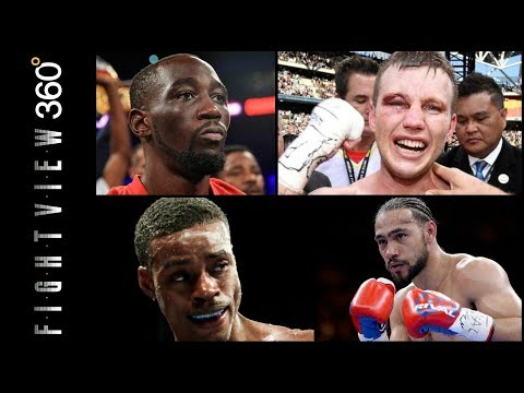 HORN VS CRAWFORD PREVIEW! HORN VS CORCORAN POST FIGHT LIVE! THURMAN VS SPENCE LATE 2018?