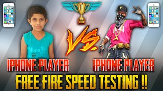 I PHONE VS I PHONE SPEED TEST [FREE FIRE GAMING] FREE FIRE BEST MOBILE || RUN GAMING TAMIL