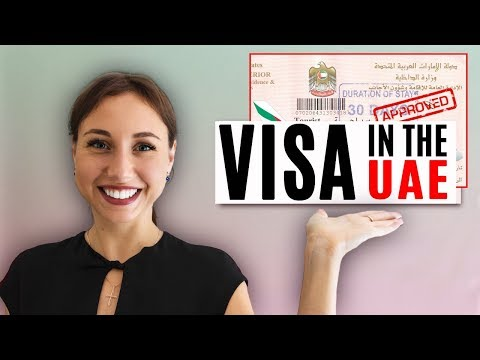 Types of Visa in the UAE to Dubai.
