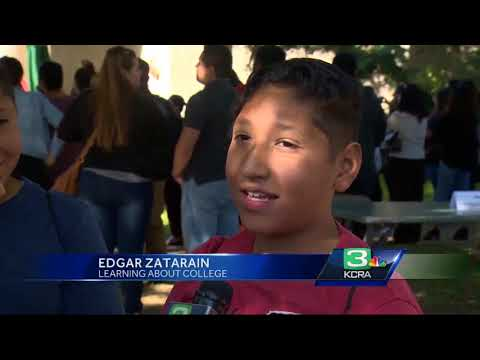 Sacramento State hosts education fair to inspire 5th graders