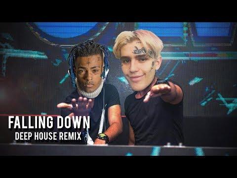 falling down, but it's deep house (xxxtentacion x lil peep)
