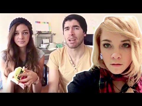 MI NOVIA REACCIONA A VIDEOS DE MI EX Y YO !!