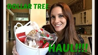 DOLLAR TREE HAUL: November 2015 ORGANIZATION + MORE!!  CHATTY