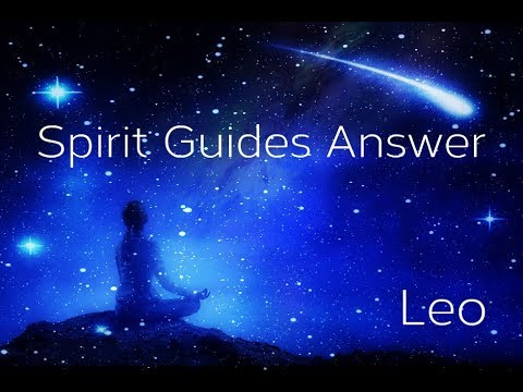 Leo ~ Archangel Michael Is With You! ~ Spirit Guide Messages November 2019