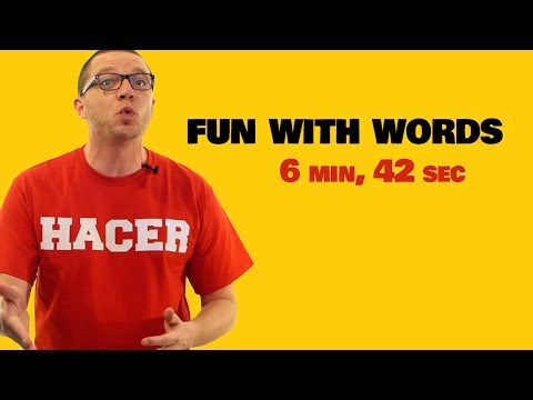 Fun with Spanish Words! - YouTube