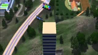 The Sims 3 How to build a skyscraper (greek)