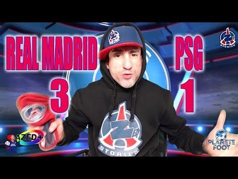 Real Madrid 3-1 PSG - Résultat injuste - Azéd Stories