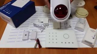 Видеообзор беспроводной охранно-пожарной GSM сигнализации Страж Премиум