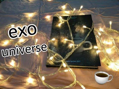 Unboxing album exo universe winter special...