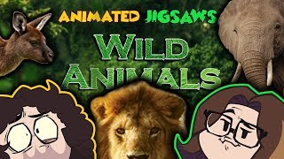 Animated Jigsaws: Wild Animals - Game Grumps