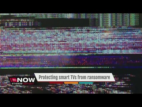 Protect your smart TVs from ransomware