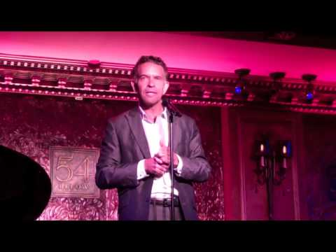 """Brian Stokes Mitchell sings """"Wheels of a Dream"""" & """"I Was Here"""" - Ahrens & Flaherty show"""