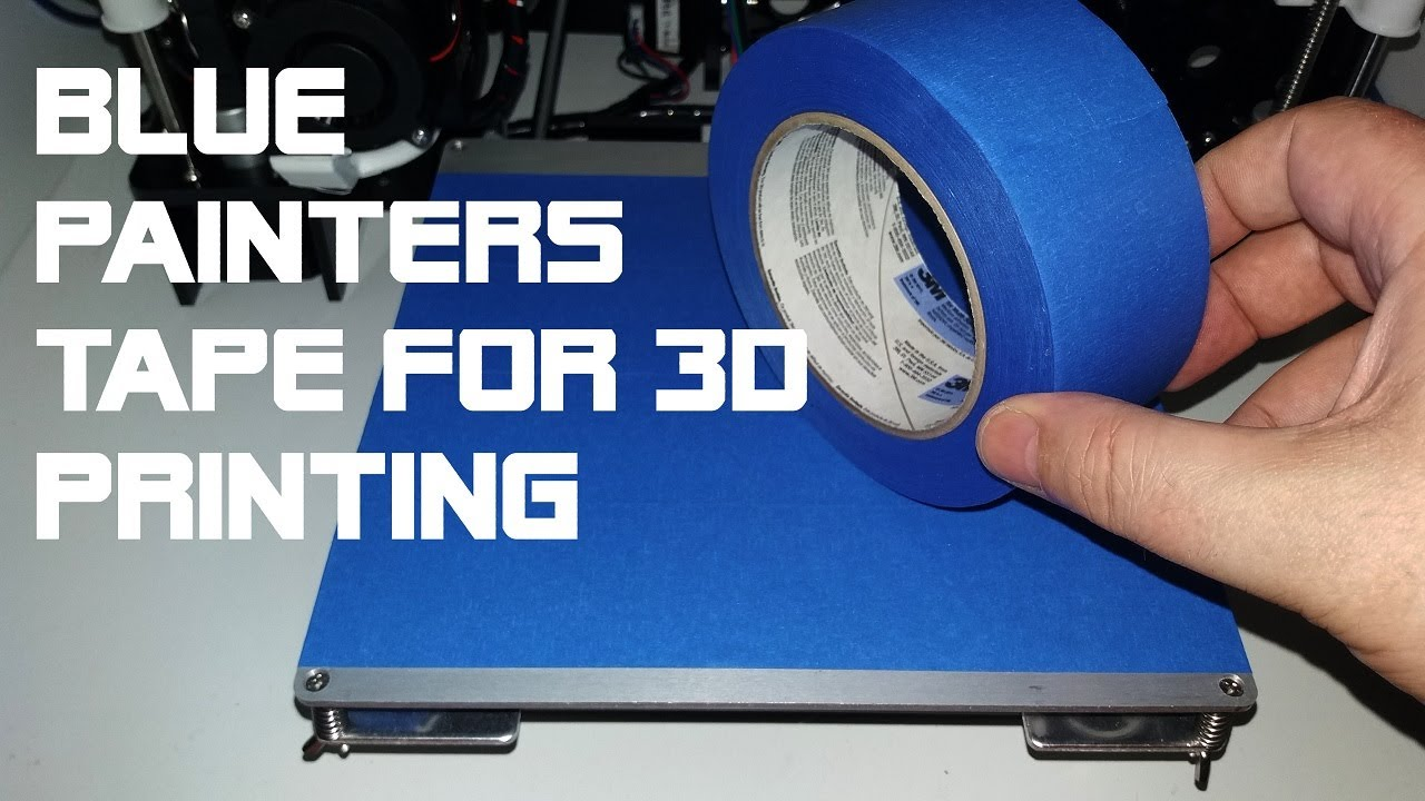Anet A8 How To Use Blue Tape For Pla Filament