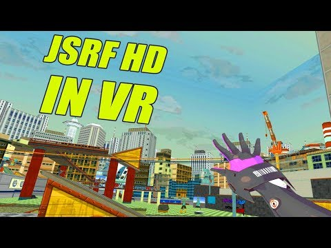 Jet Set Radio Future HD In VR (JSRF VRChat)