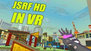 Jet Set Radio Future HD In VR (JSRF VRChat)