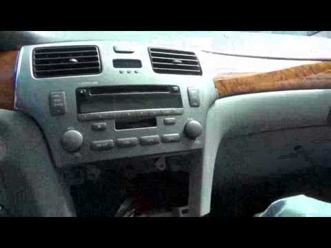 Lexus ES 330 2004, 2005 and 2006 iPhone, iPod and AUX