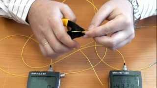 Механический соединитель оптоволокна SNR-Link(Чтобы не таскать с собой сварочный аппарат, для оперативного ремонта подходит механические соединитель..., 2012-06-09T07:14:48.000Z)