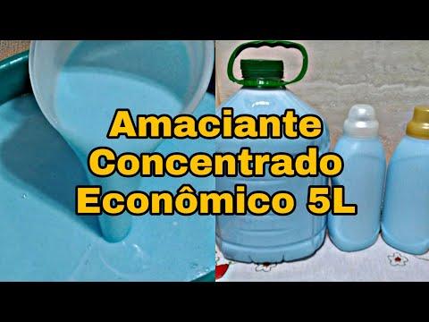 AMACIANTE CASEIRO CONCENTRADO
