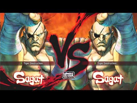 Ultra Street Fighter 4 - Sagat Vs Sagat [Hardest]  