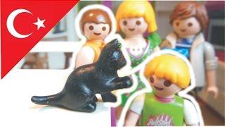 Çocuk filmi Hauser ailesi kedi alıyor / Playmobil Türkçe